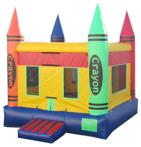 Crayon Bounce House (B1045)