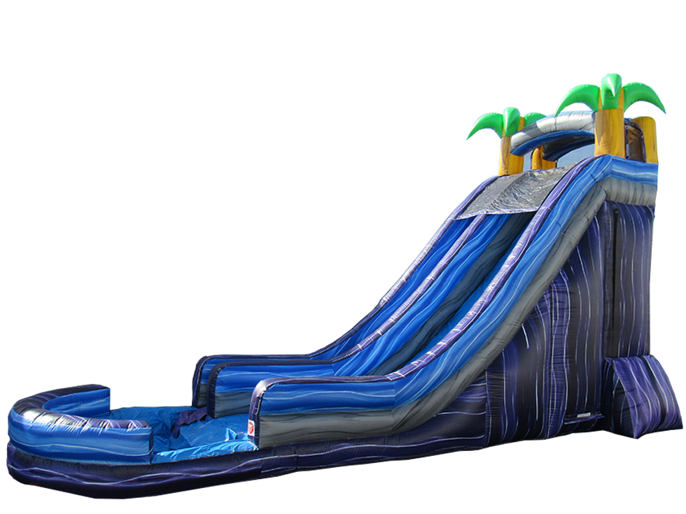 22' Tropical Water Slide (WS80012)