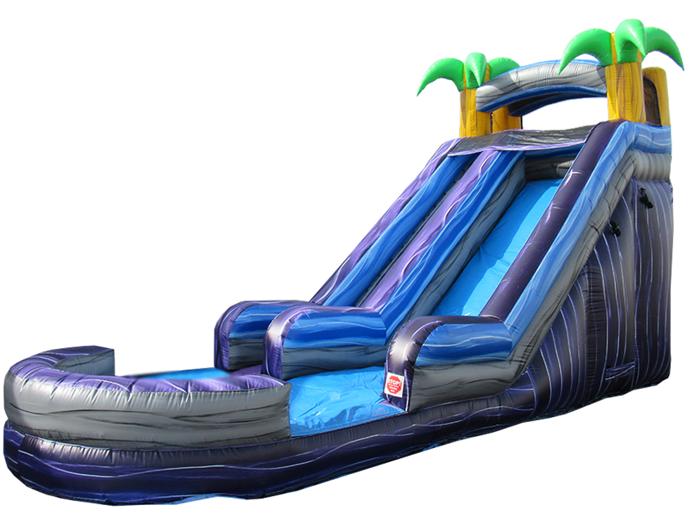 18' Tropical Water Slide (WS80011)