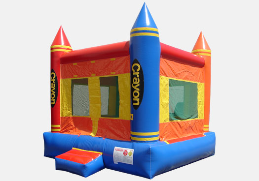 Crayon Bounce House (MN1152-13)