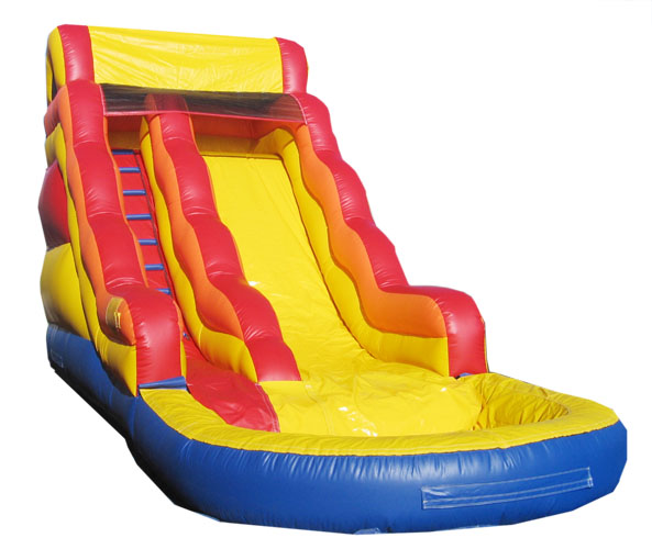 "16"" INFLATABLE WATER SLIDE (600 USED)"