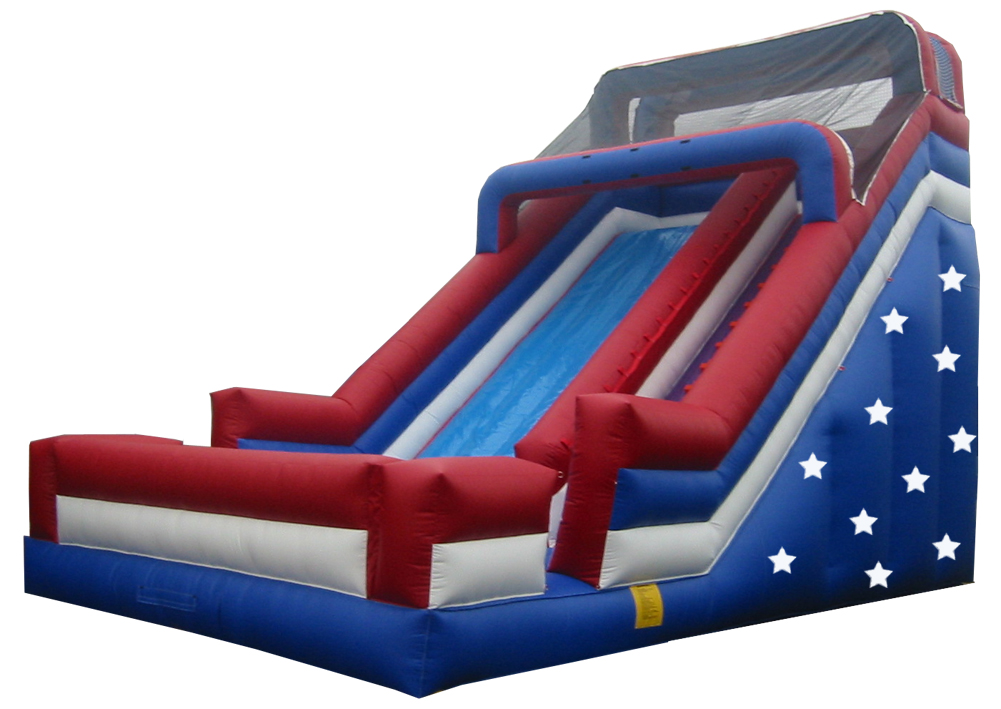 24' Single Lane Slide - Patriotic (SL3167)